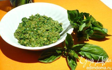 Рецепт Соус Salsa Verde (сальса верде)