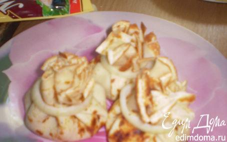 Рецепт блины с курицей и грибами