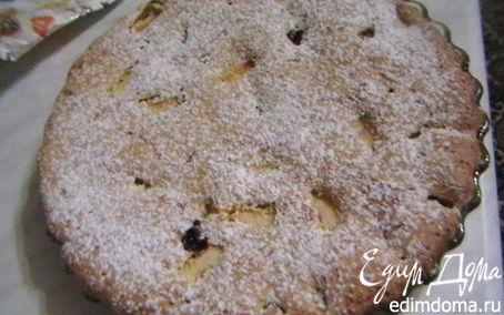 Рецепт Кукурузный бисквит с ягодами