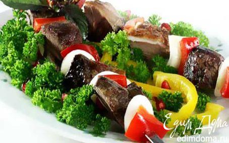 Рецепт Пикантный свиной шашлык