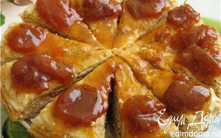 Рецепт Блинчатый пирог домашний