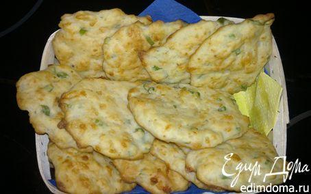 Рецепт Печенье с сыром и зеленым луком