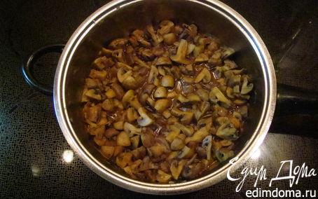 Рецепт Грибное рагу с полентой