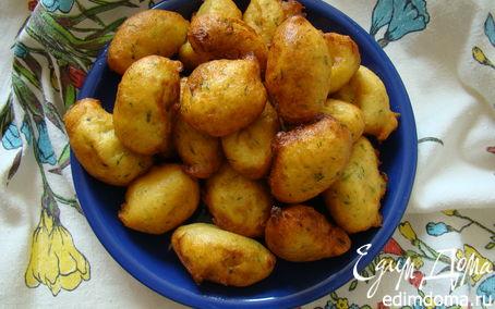 Рецепт Кукурузные клецки во фритюре