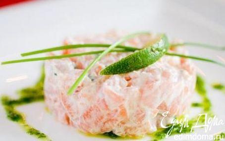 Рецепт Террин из лосося