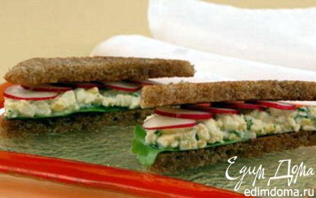 Рецепт Сэндвич яичный