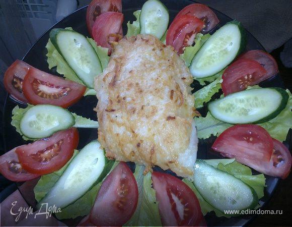 Рыба в хрустящей картофельной корочке