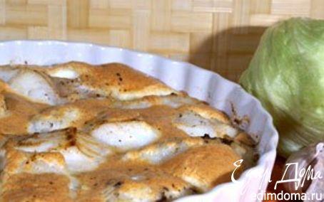 Рецепт Судак в сырном суфле