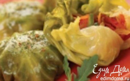 Рецепт Шарики из капустных листьев