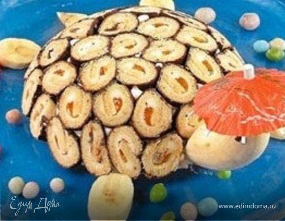 """Торт """"Черепаха Тортилла"""""""