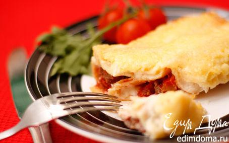 Рецепт Каннелони с мясным фаршем
