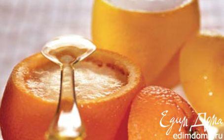 Рецепт Апельсиновое и лимонное сорбе