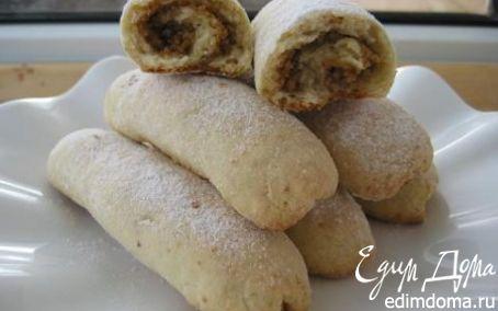 Рецепт Трубочки с орехами