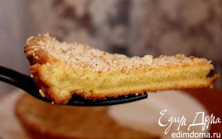 Рецепт Яблочный пирог с миндалем