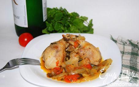 Рецепт Чахохбили, блюдо грузинской кухни