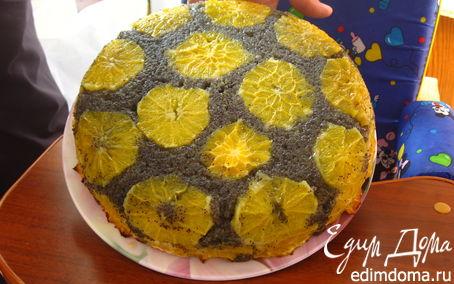 Рецепт Маковый торт с апельсинами