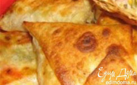 Рецепт Лаваш с сыром на завтрак