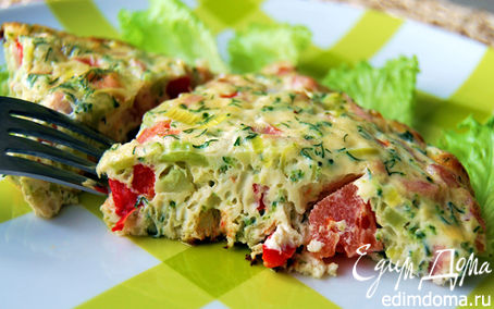Рецепт Омлет с овощами