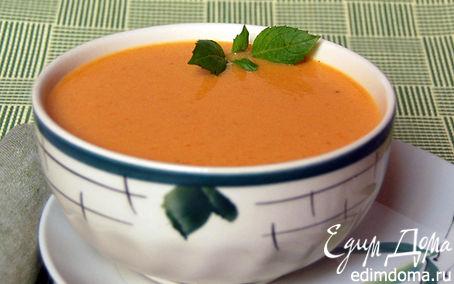 Рецепт Сливочный суп-пюре с семгой