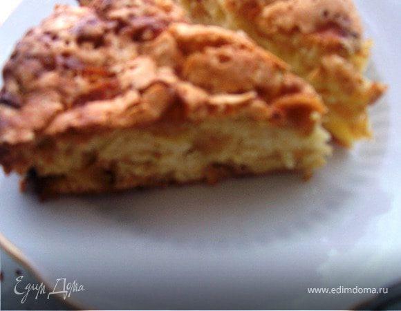 Яблочный пирог корочка хрустяшка