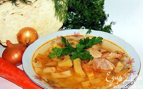 Рецепт Щи со свининой
