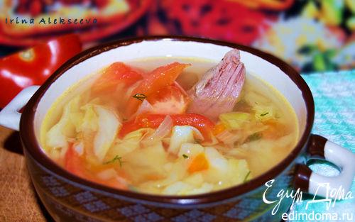 Рецепт Щи из молодой капусты