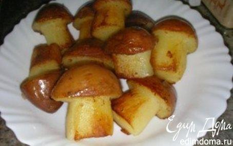"""Рецепт """"Картофельные грибочки"""""""