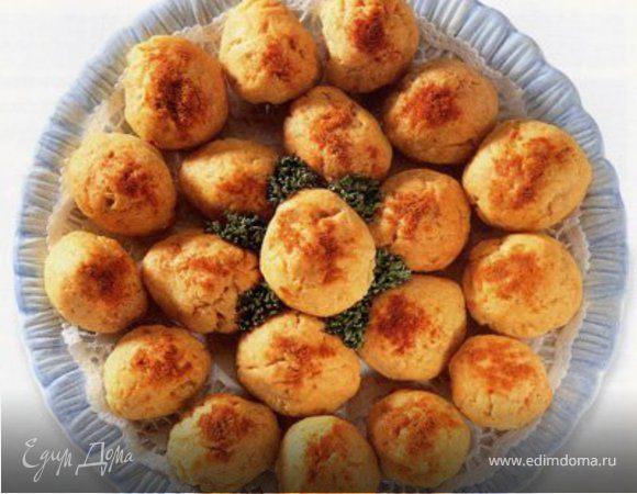 Закуска с сыром и оливками