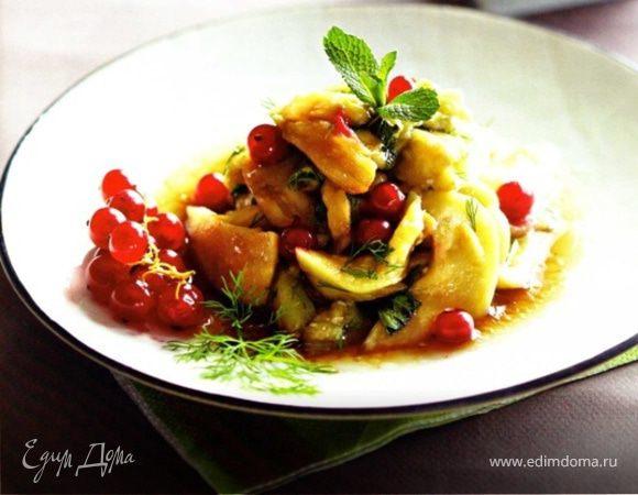 Теплый салат: БПС
