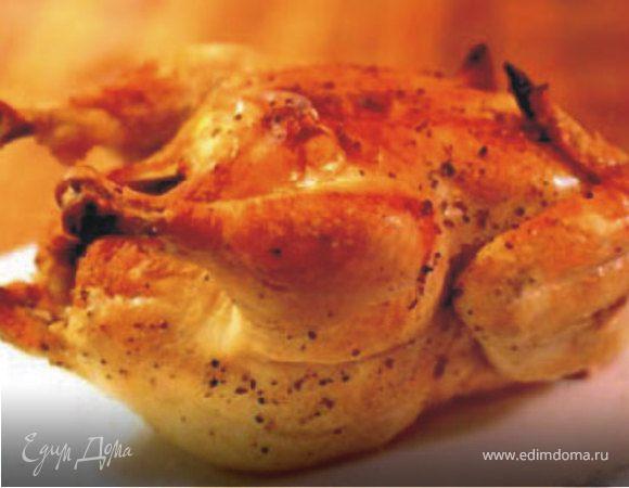 Курица в соли