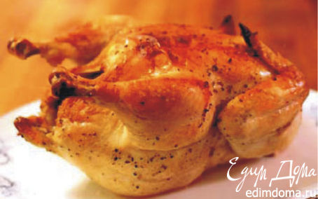 Рецепт Курица в соли