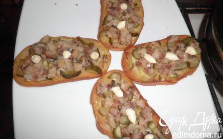 Рецепт Бутерброды с сельдью