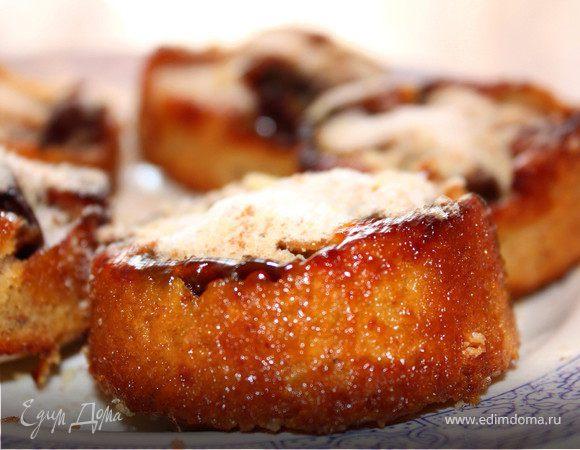 Ореховые кексы со сливами