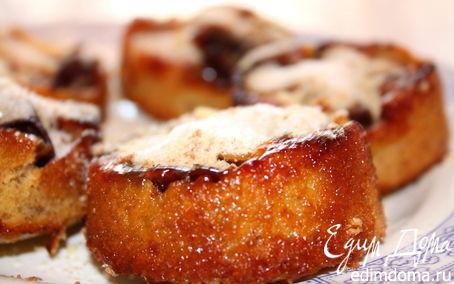 Рецепт Ореховые кексы со сливами
