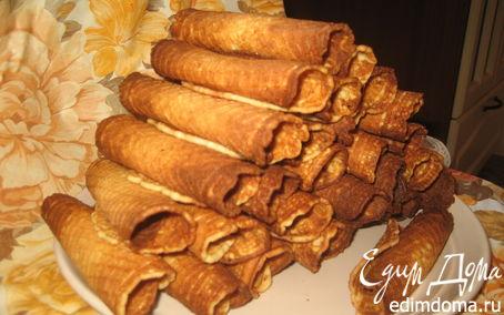 Рецепт Хрустящие вафли в вафельнице