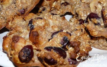 Рецепт Диетическое овсяное печенье от Ольги