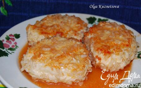 Рецепт Тефтели из куриной грудки с рисом