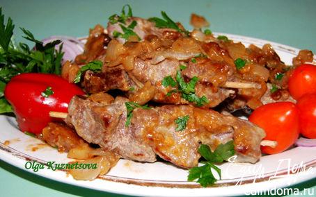 Рецепт Шашлык на сковороде