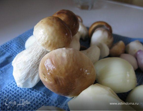 """""""Porcino"""" - осенний суп из белых грибов"""
