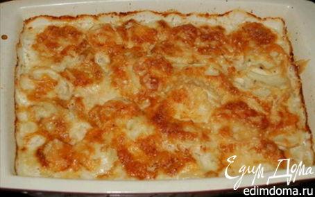 Рецепт – Запеченный картофель со сливками и сыром