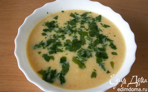 Рецепт Суп-пюре из белой фасоли с грушей
