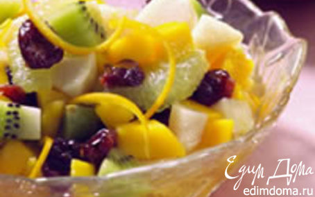 Рецепт Тропические фрукты в пряном сиропе