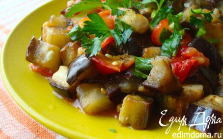 Рецепт Соте из баклажан со сливами