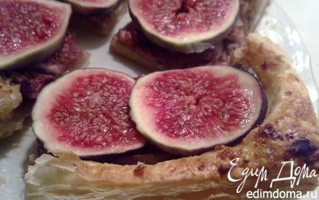 Рецепт Пирог с инжиром и орехами