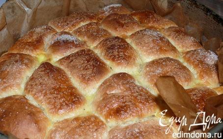 Рецепт Румяные булочки с курагой и черносливом