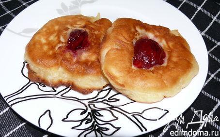 Рецепт Оладьи со сливами