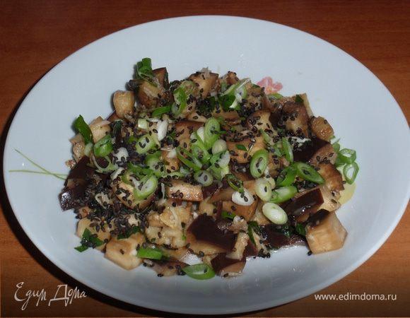 Салат из баклажана