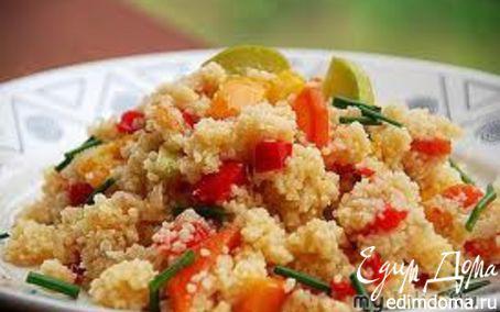 Рецепт Марокканский кускус с курицей и овощами