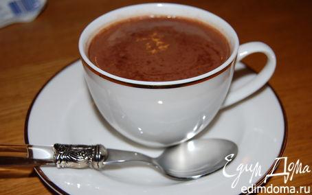 Рецепт Горячий вечерний шоколад
