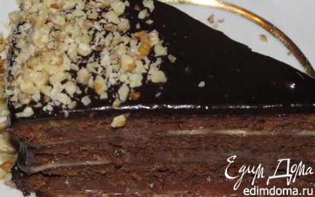 Рецепт Шоколадно-ореховый торт